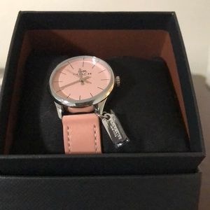 Coach Ruby Ipsilaly Pink Ladies Watch With Charm